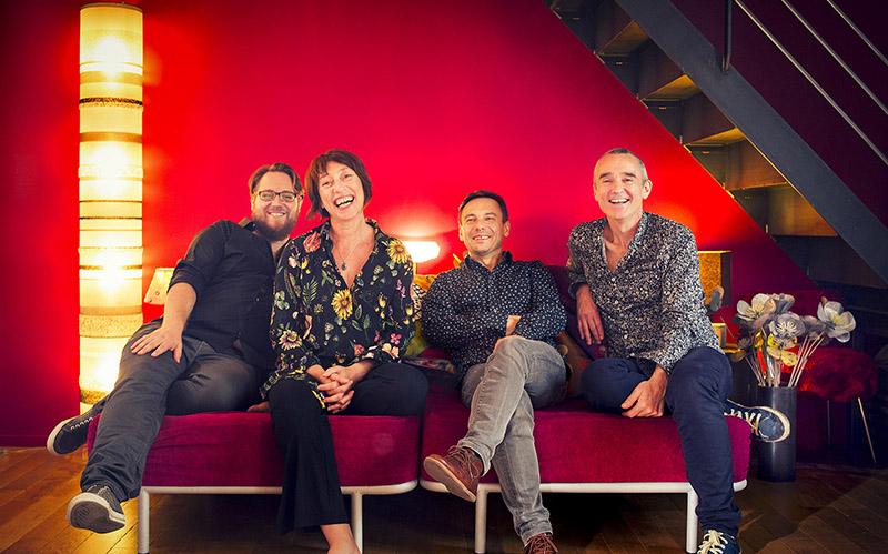 Christophe Marguet Quartet «Happy hours»